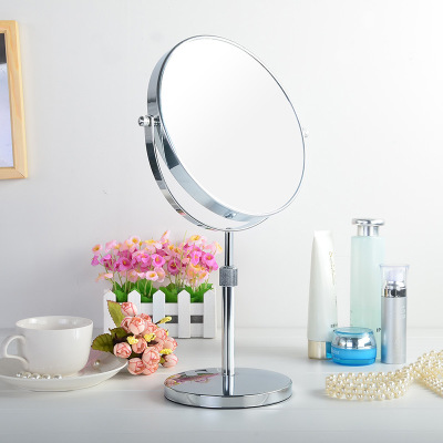 Mirror,double sided mirror,magnification,one side magnification,hotel supplies ireland,stable base plate,portable,adjustable height