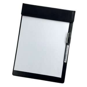 Grey A5 Note Pad,Pen Holder,easy to store,A5,A5 letter size,Hotel Supplies Ireland,Restaurant,restaurant notepad,A5 restaurant notepad