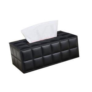 Black Rectangle Waffle Tissue Box,Hotel Supplies Ireland,Leather Tissue Box,Tissue Box,Stylish Tissue Box,Hotel Tissue Box,Waffle Tissue Box