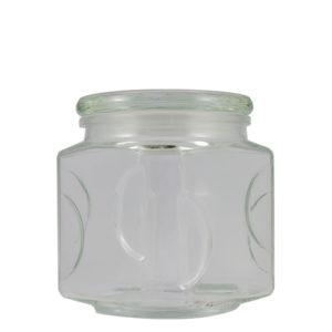 1.5L, 1.5 litre, glass storage jar