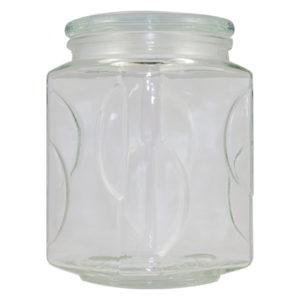 2 Litre, glass storage jar, 2.0L jar